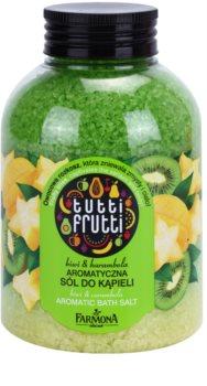 Farmona Tutti Frutti Kiwi & Carambola Bath Salts