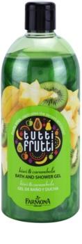 Farmona Tutti Frutti Kiwi & Carambola gel de duche e banho