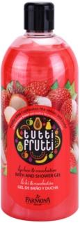 Farmona Tutti Frutti Lychee & Rambutan gel de duche e banho