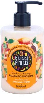 Farmona Tutti Frutti Peach & Mango bálsamo de limpeza para mãos