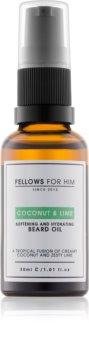 Fellows for Him Coconut & Lime Bartöl
