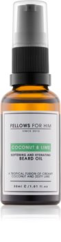 Fellows for Him Coconut & Lime huile pour barbe