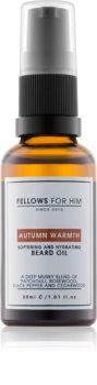 Fellows for Him Autumn Warmth olio da barba