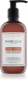 Fellows for Him Autumn Warmth šampón na vlasy a fúzy