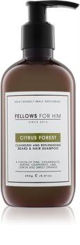 Fellows for Him Citrus Forest šampon za lase in brado
