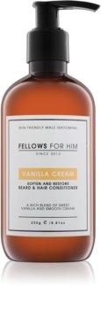 Fellows for Him Vanilla Cream Hair and Beard Conditioner