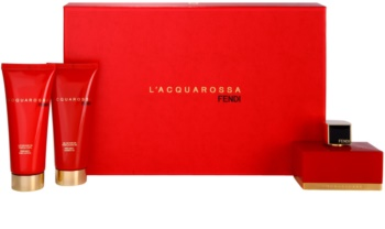 Fendi L'Acquarossa Gift Set IV. for Women