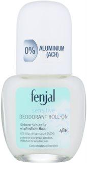 Fenjal Sensitive desodorizante roll-on para pele sensível