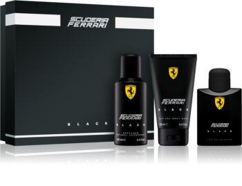 Ferrari Scuderia Ferrari Black poklon set III. za muškarce