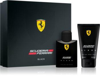 Ferrari Scuderia Ferrari Black darčeková sada IV. pre mužov