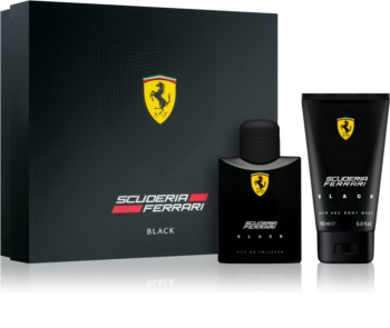 Ferrari Scuderia Ferrari Black dárková sada IV. pro muže