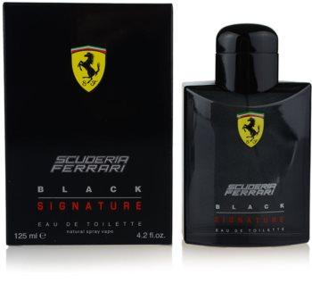Ferrari Scuderia Ferrari Black Signature туалетная вода для мужчин