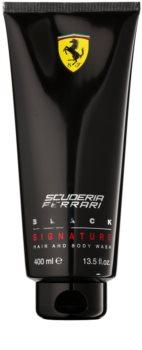 Ferrari Scuderia Ferrari Black gel de duche para homens 400 ml