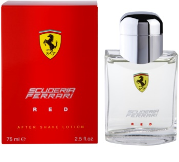 Ferrari Scuderia Ferrari Red Aftershave Water for Men