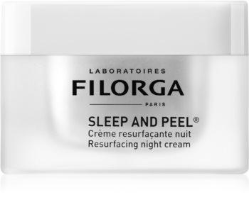 Filorga Sleep & Peel cremă de noapte anti-îmbătrânire pentru strălucirea și netezirea pielii