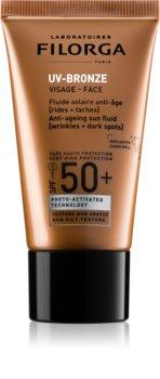 Filorga UV-Bronze loción antiarrugas SPF 50+