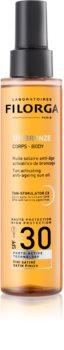 Filorga UV-Bronze olejek ochronny wspomagający opalanie SPF 30