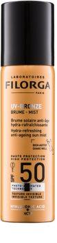Filorga UV-Bronze защитна хидратираща и освежаваща мъгла против признаци на стареене SPF 50