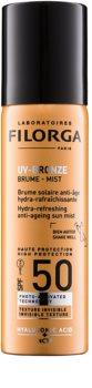 Filorga UV-Bronze ochronna, nawilżająca i orzeźwiająca mgiełka przed objawami starzenia się skóry SPF 50