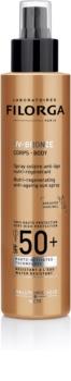 Filorga UV-Bronze защитна регенерираща грижа срещу стареене на кожата SPF 50+