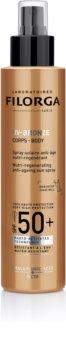 Filorga UV-Bronze ochranná regeneračná starostlivosť proti starnutiu pokožky SPF 50+