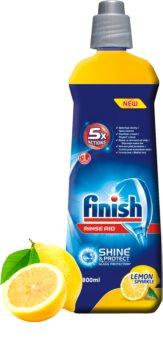 Finish Shine & Dry Lemon препарат за изплакване на съдомиялна машина