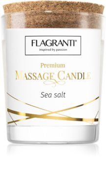Flagranti Massage Candle Sea Salt svijeća za masažu