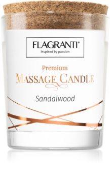 Flagranti Massage Candle Sandal Wood masážní svíčka