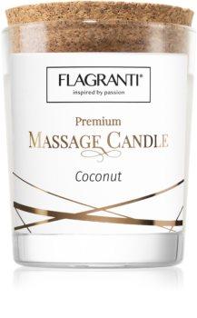 Flagranti Massage Candle Coconut masážní svíčka