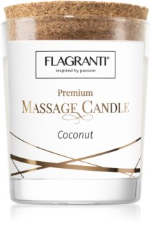 Flagranti Massage Candle Coconut свещ за масаж