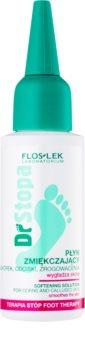 FlosLek Laboratorium Foot Therapy zmäkčujúci fluid na mozole, otlaky a kurie oká