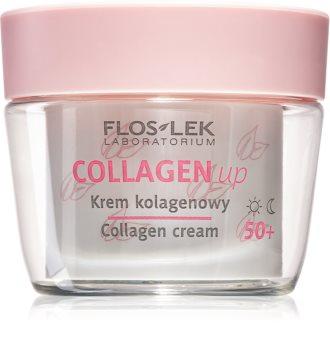 FlosLek Laboratorium Collagen Up denní i noční protivráskový krém 50+