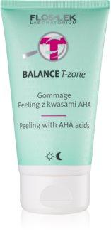 FlosLek Laboratorium Balance T-Zone Gommage Peeling for Combination Skin