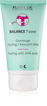 FlosLek Laboratorium Balance T-Zone piling za mješovitu kožu lica