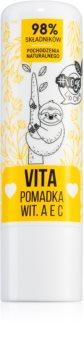 FlosLek Laboratorium Vege Lip Care Vita balsam do ust z witaminami A, C, E