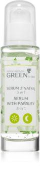 FlosLek Laboratorium GREEN for skin подхранващ и хидратиращ серум 3 в 1