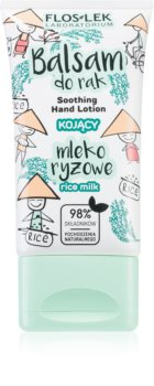 FlosLek Laboratorium Rice Milk creme de mãos suave