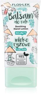 FlosLek Laboratorium Rice Milk успокаивающий крем для рук