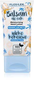 FlosLek Laboratorium Coconut Milk Creme hidratante para mãos