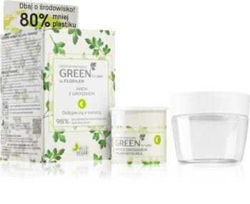 FlosLek Laboratorium GREEN for skin нощен подхранващ крем