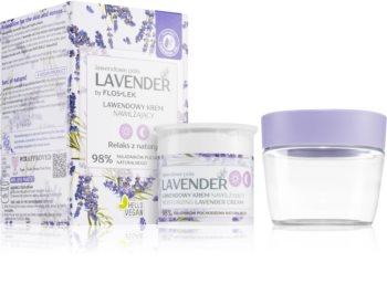 FlosLek Laboratorium Lavender Moisturising Cream with Lavender
