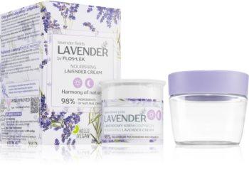 FlosLek Laboratorium Lavender crème nourrissante à la lavande