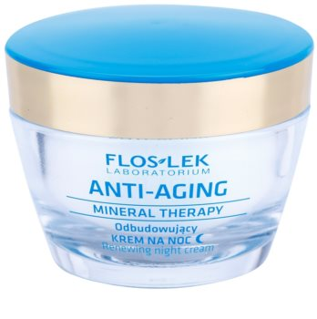 FlosLek Laboratorium Anti-Aging Mineral Therapy creme de noite renovador