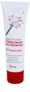 FlosLek Laboratorium Dilated Capillaries noční gelová maska pro redukci zarudnutí