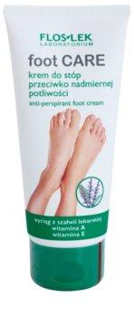 FlosLek Laboratorium Foot Care крем за крака  срещу силно изпотяване