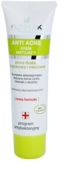 FlosLek Pharma Anti Acne crème matifiante pour peaux à imperfections
