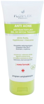 FlosLek Pharma Anti Acne Cleansing Gel For Oily Acne - Prone Skin