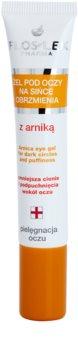 FlosLek Pharma Eye Care gel de ochi cu arnică  împotriva ridurilor și a cearcănelor întunecate