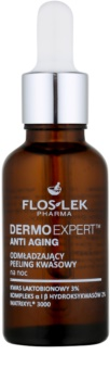 FlosLek Pharma DermoExpert Acid Peel Rejuvenating Night Treatment with Exfoliating Effect