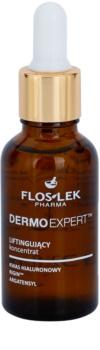 FlosLek Pharma DermoExpert Concentrate sérum lifting para rosto, pescoço e decote